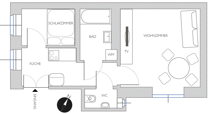 apartment fasan plan